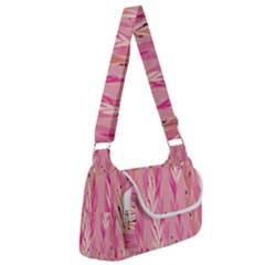Pink Leaf Pattern Multipack Bag