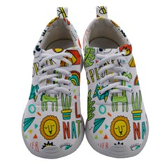 Traveller Explorer Women Athletic Shoes by designsbymallika