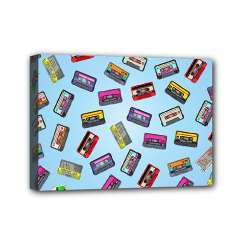 Retro Look Mini Canvas 7  X 5  (stretched)