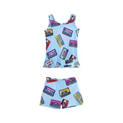 Retro Look Kids  Boyleg Swimsuit