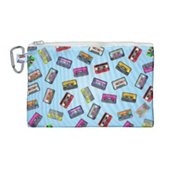 Retro Look Canvas Cosmetic Bag (large)