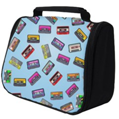 Retro Look Full Print Travel Pouch (big)