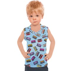Retro Look Kids  Mesh Tank Top