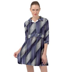 Scrapbooking Paper Mini Skater Shirt Dress
