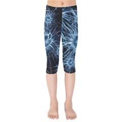 Neurons Brain Cells Structure Kids  Capri Leggings  by Alisyart