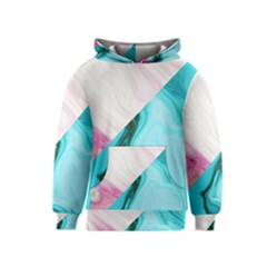 Abstract Marble Pattern Kids  Pullover Hoodie by goljakoff