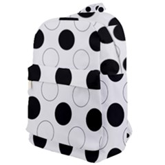 Background Dot Pattern Classic Backpack by HermanTelo