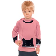 Sneaky Cat Kids  Hooded Pullover by goljakoff