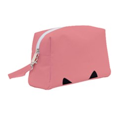 Sneaky Cat Wristlet Pouch Bag (medium)