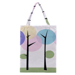 Forest Trees Nature Plants Classic Tote Bag