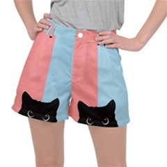 Sneaky Cat Ripstop Shorts