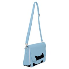 Sneaky Kitty Shoulder Bag With Back Zipper