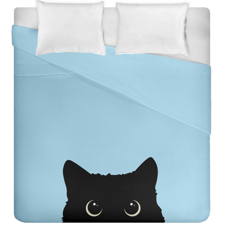 Sneaky kitty Duvet Cover Double Side (King Size)
