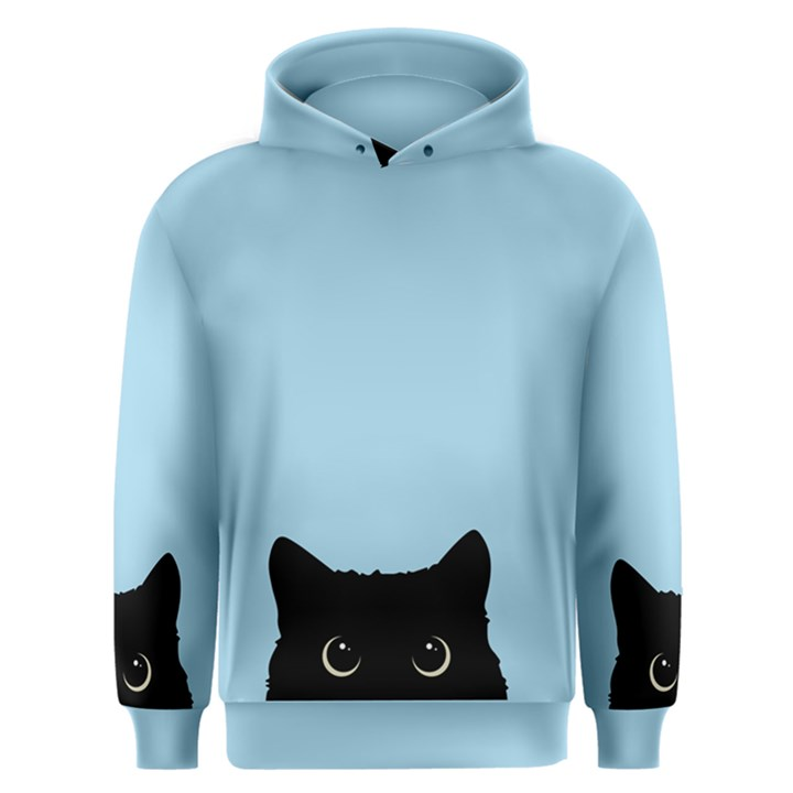 Sneaky kitty Men s Overhead Hoodie