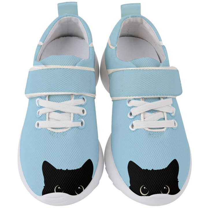 Sneaky kitty Kids  Velcro Strap Shoes