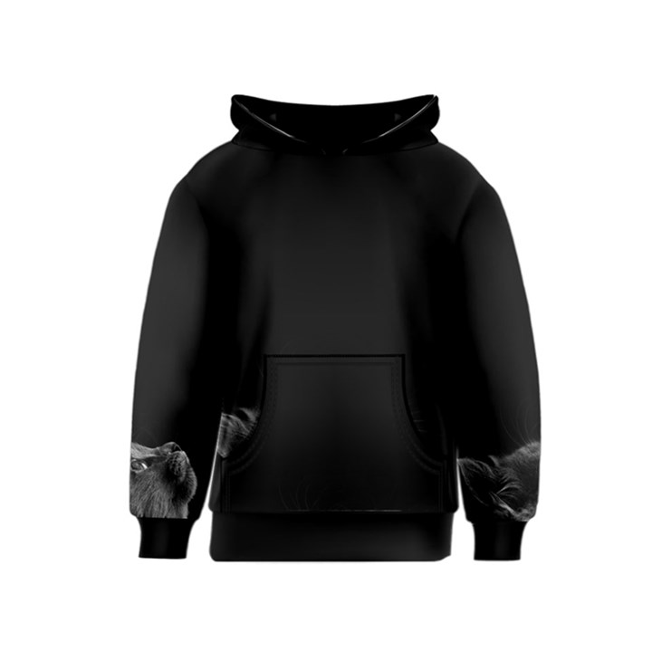 Who is there? Kids  Pullover Hoodie