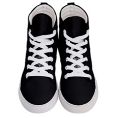 Who Is There? Women s Hi-top Skate Sneakers