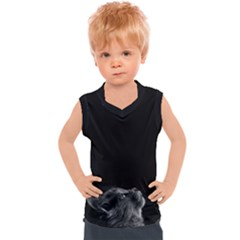 Who Is There? Kids  Mesh Tank Top