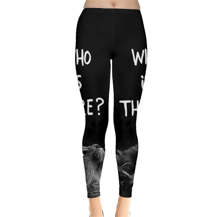 Who is there? Leggings