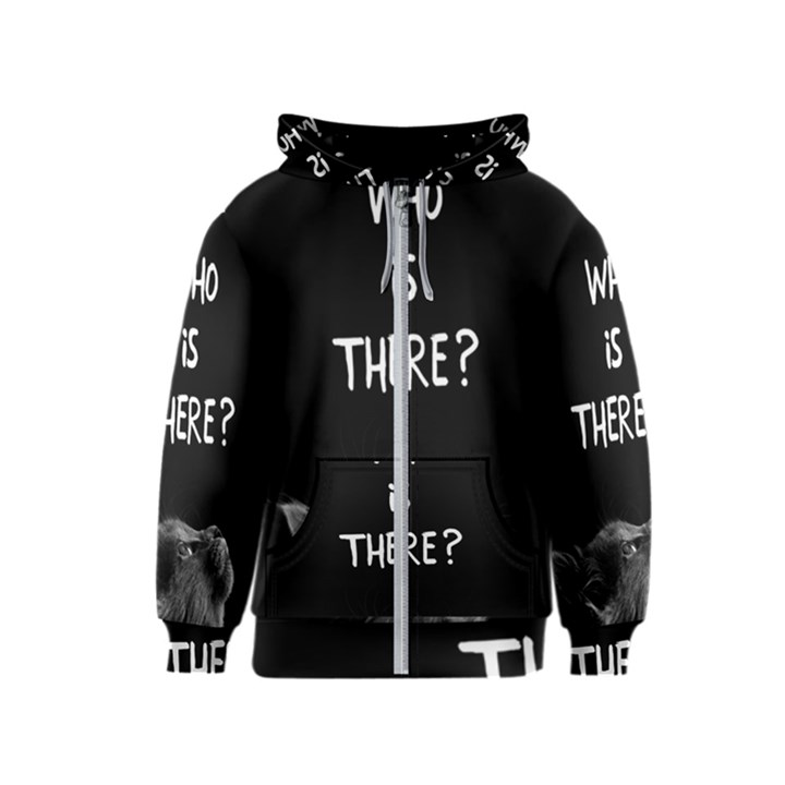 Who is there? Kids  Zipper Hoodie