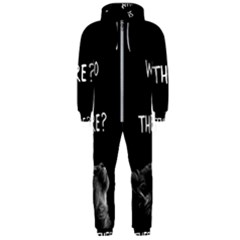 Who Is There? Hooded Jumpsuit (men)