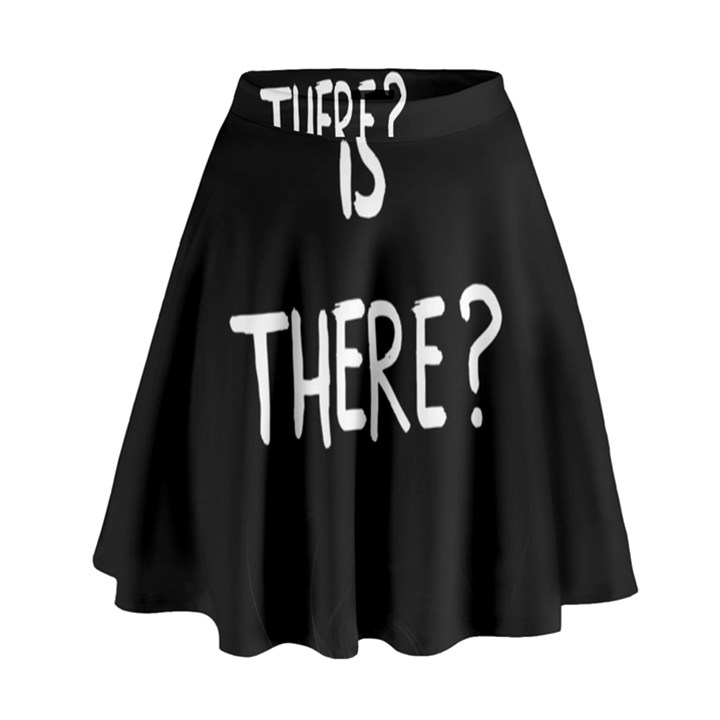 Who is there? High Waist Skirt