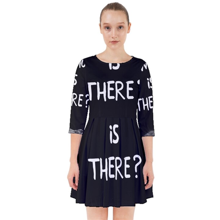 Who is there? Smock Dress