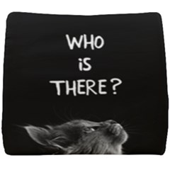 Who Is There? Seat Cushion