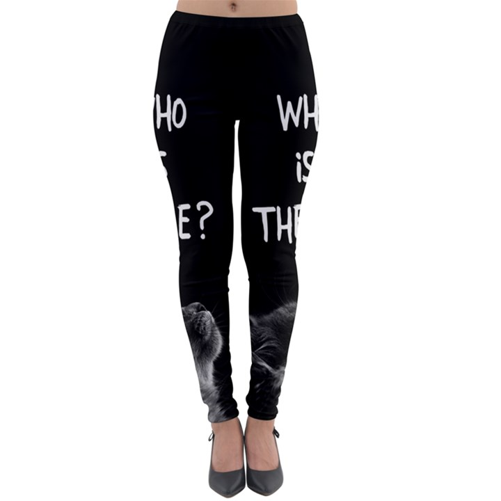 Who is there? Lightweight Velour Leggings