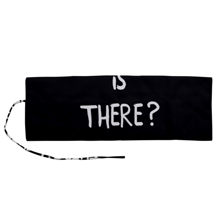 Who is there? Roll Up Canvas Pencil Holder (M)