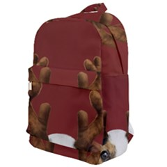 Christmass Deer Classic Backpack by goljakoff