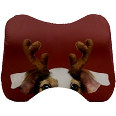 Christmass Deer Head Support Cushion