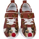 Christmass deer Kids  Velcro Strap Shoes View1