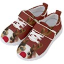 Christmass deer Kids  Velcro Strap Shoes View2