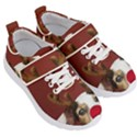 Christmass deer Kids  Velcro Strap Shoes View3
