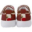 Christmass deer Kids  Velcro Strap Shoes View4