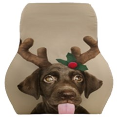 Christmas Dog Car Seat Back Cushion