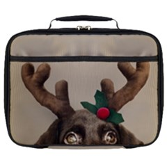 Christmas Dog Full Print Lunch Bag