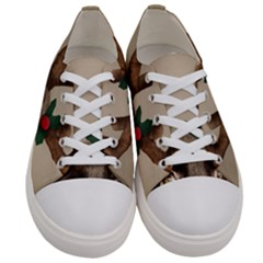 Christmas Dog Women s Low Top Canvas Sneakers