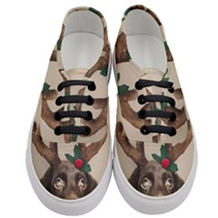 Christmas Dog Women s Classic Low Top Sneakers
