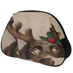 Christmas Dog Full Print Accessory Pouch (big)