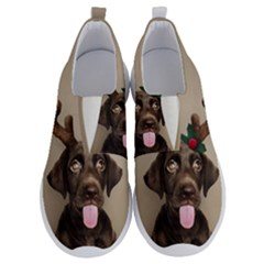 Christmas Dog No Lace Lightweight Shoes