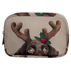 Christmas Dog Make Up Pouch (small)