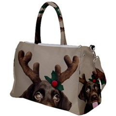 Christmas Dog Duffel Travel Bag