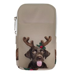 Christmas Dog Waist Pouch (large)