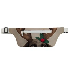 Christmas Dog Active Waist Bag