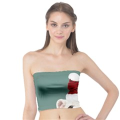 Santa Dog Tube Top