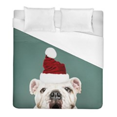 Santa Dog Duvet Cover (full/ Double Size)