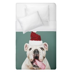 Santa Dog Duvet Cover (single Size)