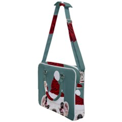 Santa Dog Cross Body Office Bag